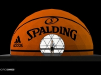 Spalding Basketball Court Dome Concept
