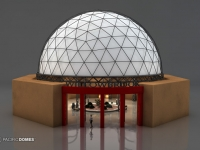 Willowbrook Plaza Dome Concept