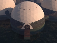 Floating Eco-resort Dome Concept