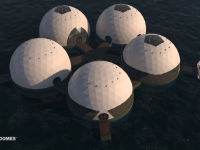 Floating Eco-resort Dome Concept 2