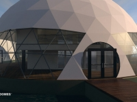 Floating Eco-resort Dome Concept 3