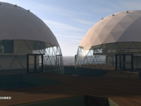 Floating Eco-resort Dome Concept 4