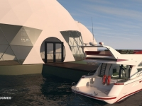 Floating Eco-resort Dome Concept 5
