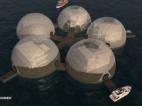 Floating Eco-resort Dome Concept 8