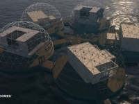 Floating Eco-resort Dome Concept 11