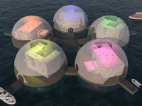 Floating Eco-resort Dome Concept 13
