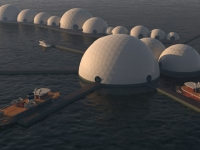 Floating Eco-resort Dome Concept 17