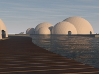 Floating Eco-resort Dome Concept 19