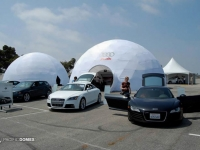 Audi Car Showcase Dome