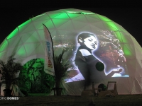 Projection Dome Lounge