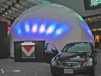 Nissan Car Show Dome