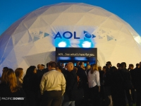 AOL Projection Dome