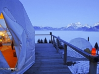 Whitepod Winter Eco-resort Domes