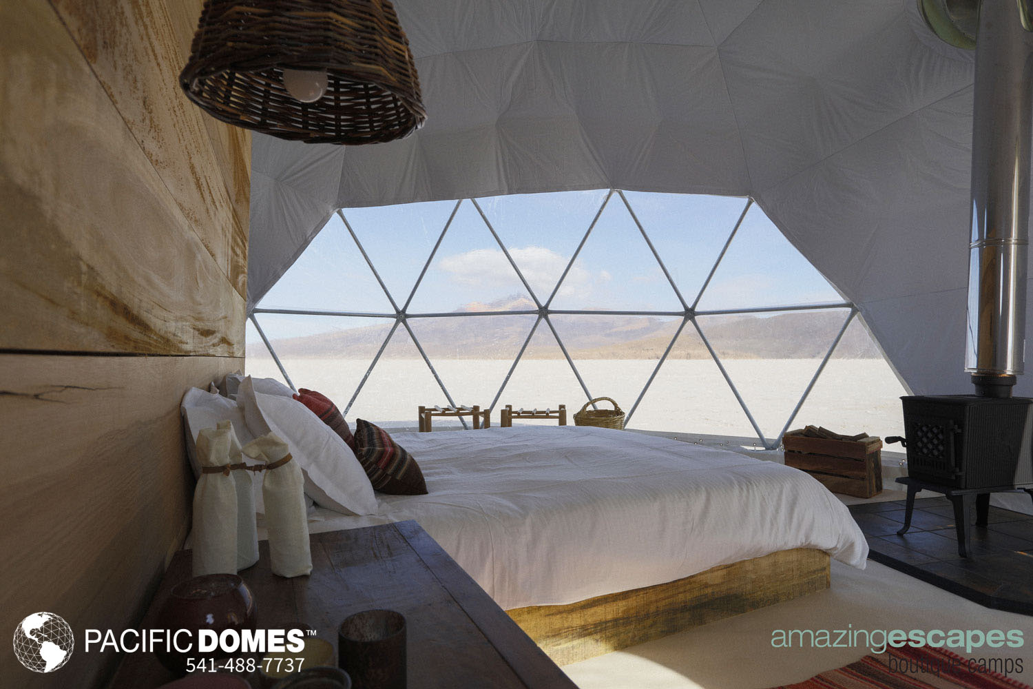 eco-resort domes, eco-friendly luxury resort domes- pacific domes