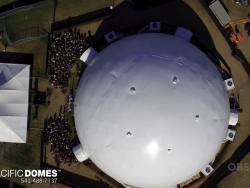 120' Coachella Projection Dome by Pacific Domes