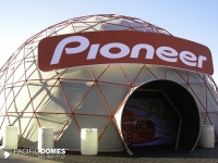 50' Suspended Cover Dome for Pioneer