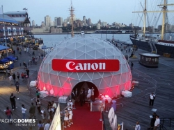 Suspended Cover Dome for Canon