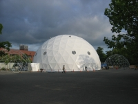 90' Geodesic Dome at the Sapporo Festival