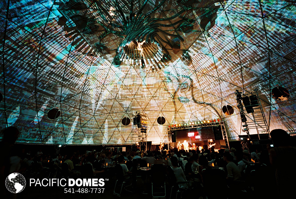 Projection Domes Geodesic 360 Projection Domes Pacific Domes