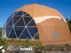 30' thermoshield pinted dome home-pacific domes