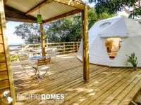 Tiny House made by Pacific Domes