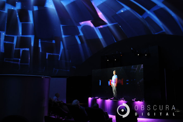 Projection Dome Theater by Pacific Domes