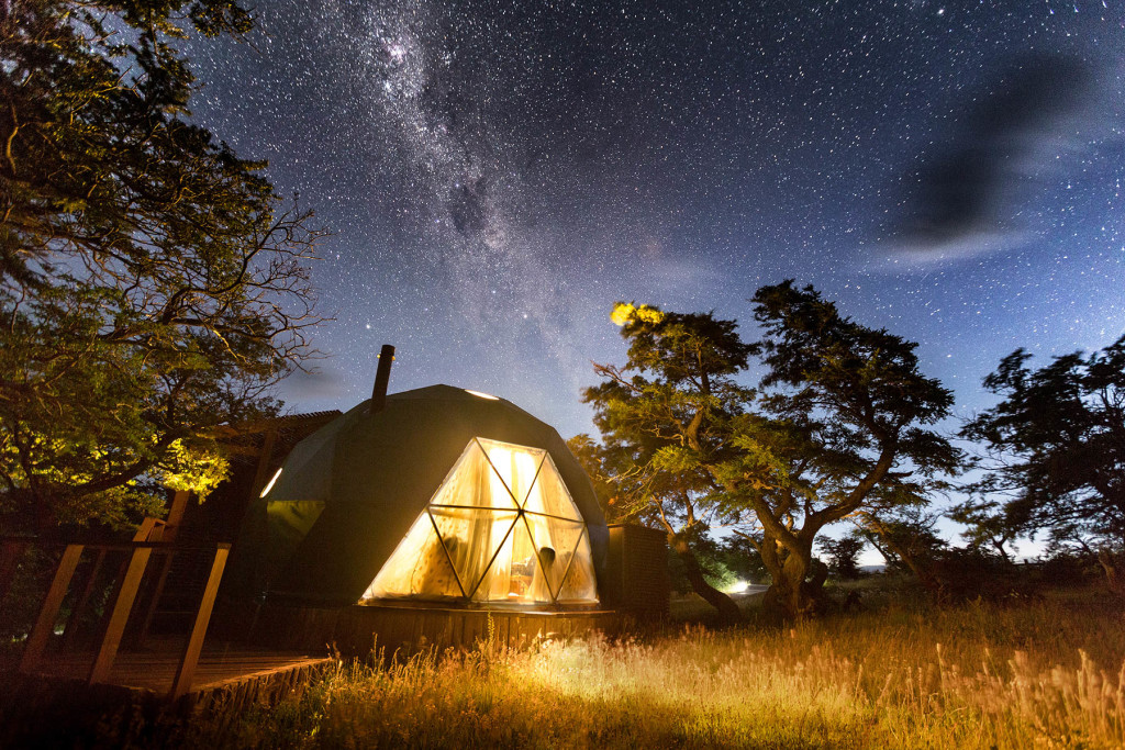 resort shelters for sale - EcoCamp Patagonia