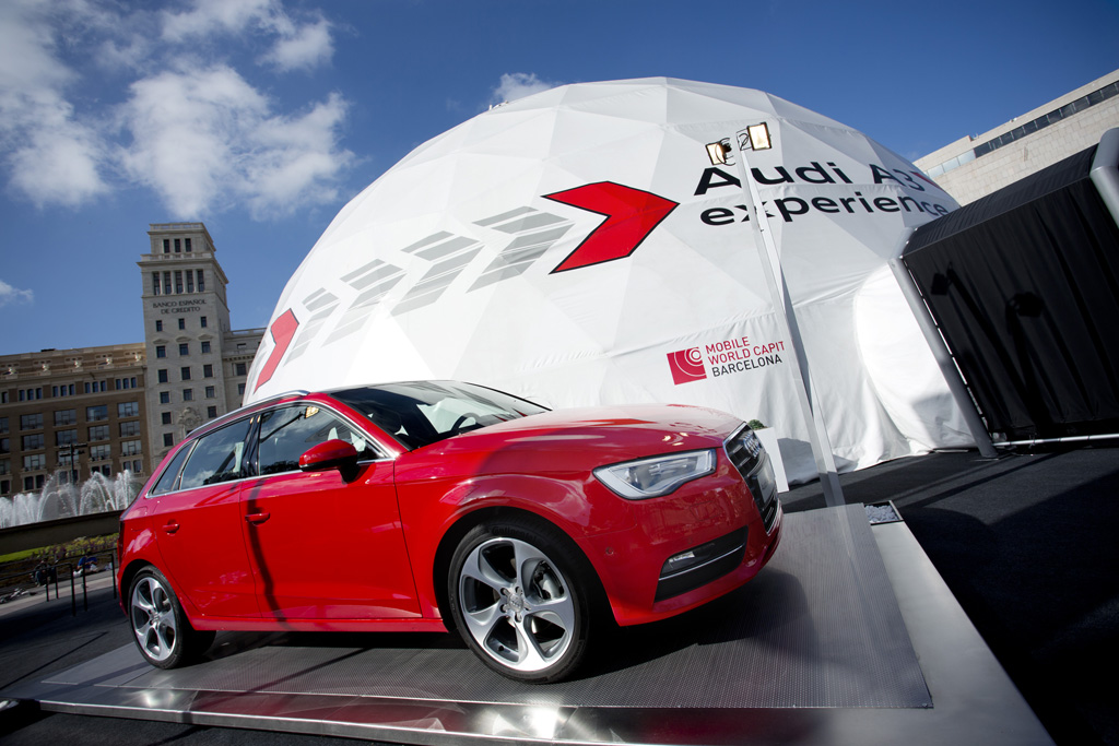 Pacific domes and Audi Motors team up for this Event Dome Tent