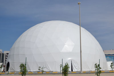 large event tents, Pacific Domes - 120ft Event Dome