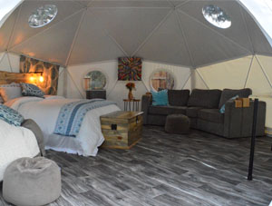 20ft Glamping Dome