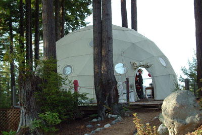 Pacific Domes - 30ft Greenhouse Dome