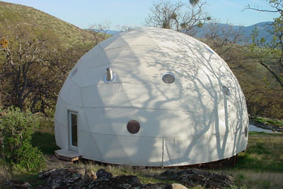 Pacific Domes - 36ft Greenhouse Dome
