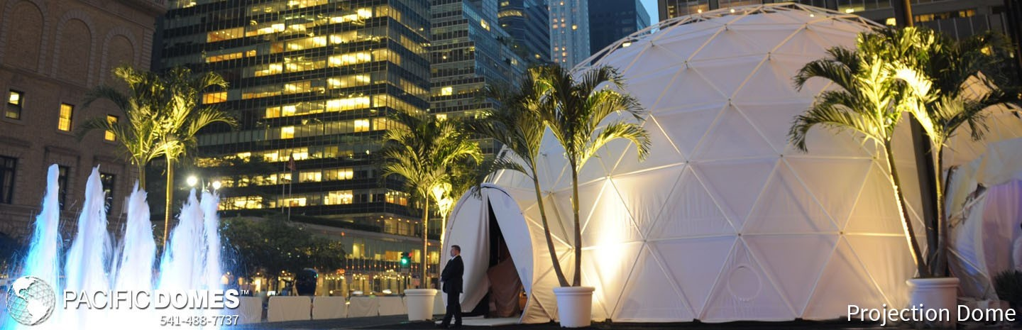 Pacific Domes - Projection Event Dome