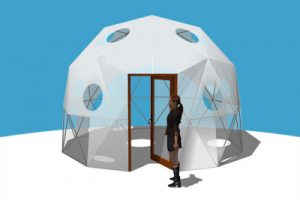Pacific Domes - 16ft Tall Shelter Dome