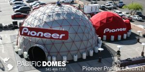 Pioneer Event Domes