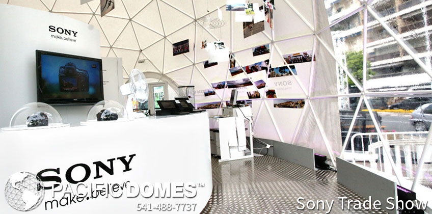 Sony Trade Show Event Dome