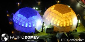 Pacific Domes - Event Domes- Roof Top Lounge Domes