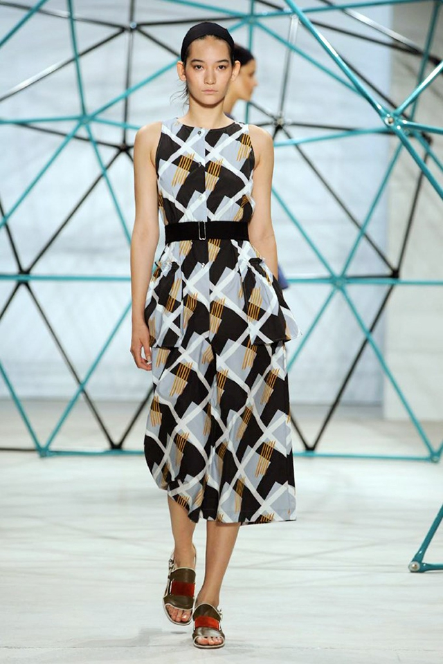 New York Fashion Week - Geodesic Domes by Pacific Domes of Oregon