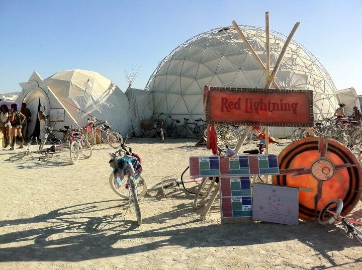 Projection Dome Theater at Burning Man