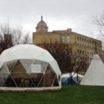 Portable Shelter Dome by Pacific Domes of Oregon
