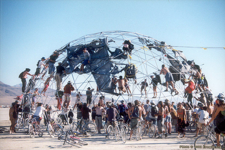 Burning Man - Thunder Dome - Pacific Domes of Oregon