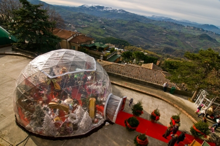 Christmas Dome Tent for Rent - Holiday Party Tents