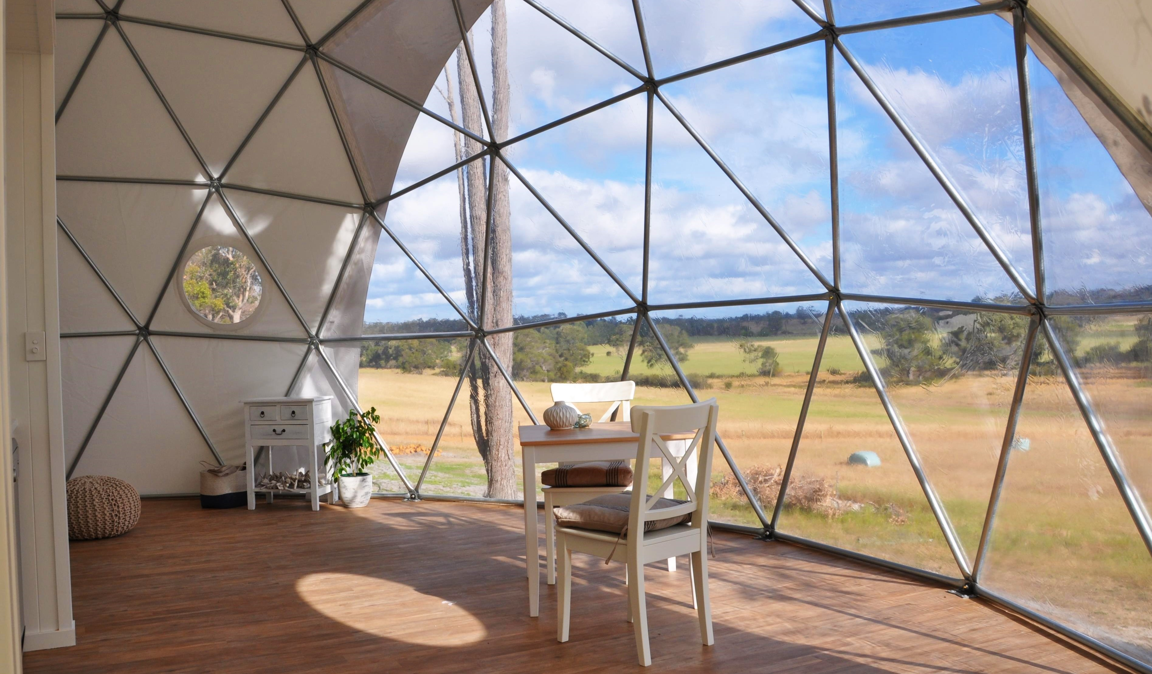 Mile End Gl&ing Domes Australia & Geodesic Dome Shelters for Award Winning Glamping Sites