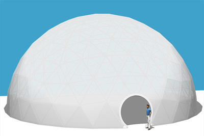 Pacific Domes - 70ft Event Dome