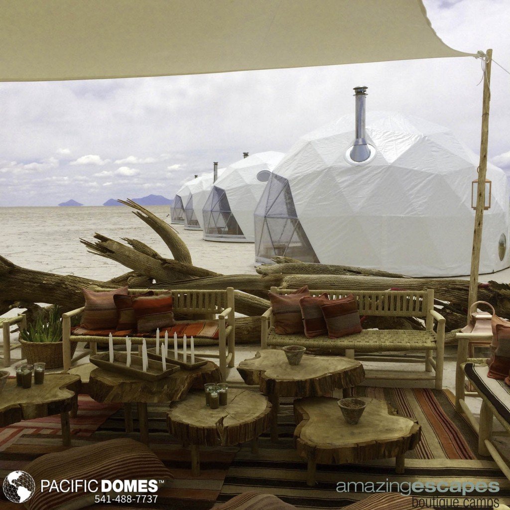 Dome Shelter for Eco Resort accommodations
