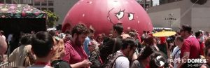 Comic Con Meatwad Pacific Domes