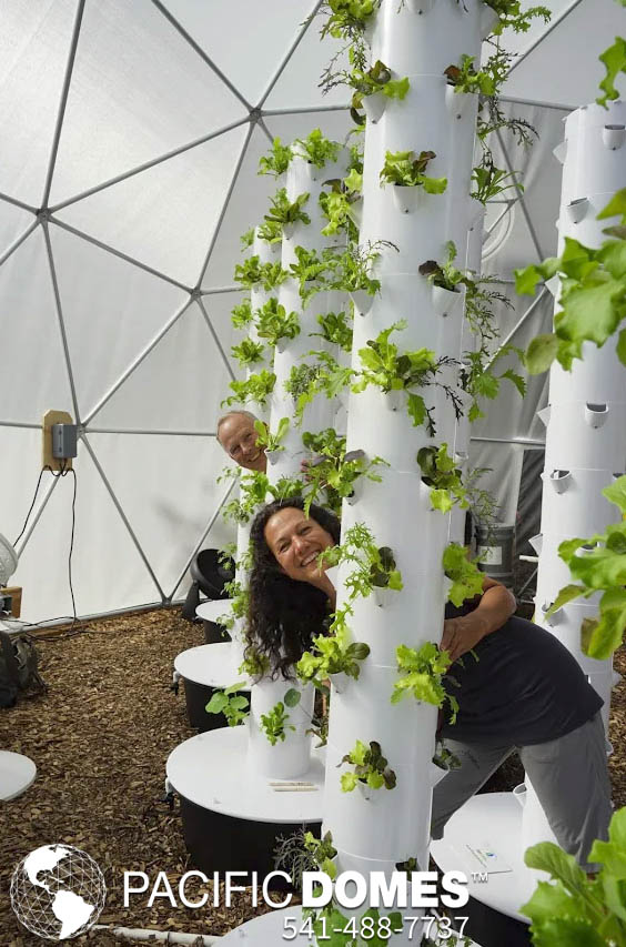 Grow Dome Greenhouses by Pacific Domes