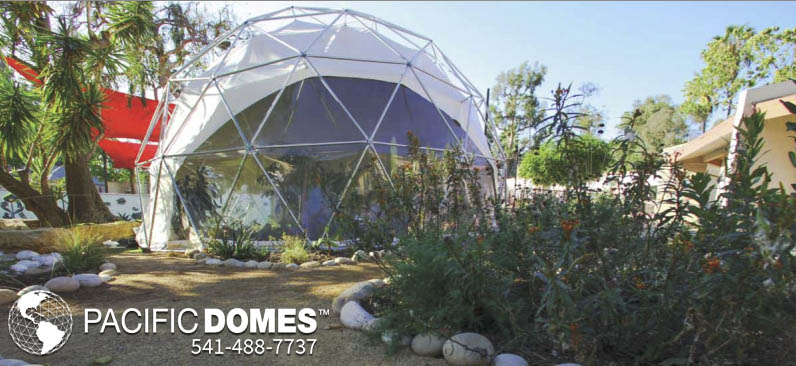 Outdoor Greenhouses for Sale - Pacific Domes