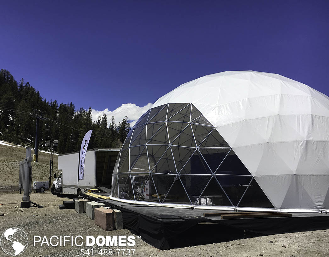 Oakley-Product Launch-Pacific Domes Sporting Event Marketing Tents