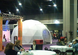 Trade show domes for rent - tradeshow ideas